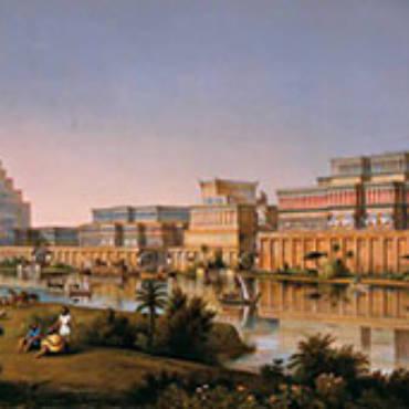 Etruschi, le migrazioni dall'oriente. La fuga da Sargon e dai Persiani, l'iscrizione babilonese di Faleri